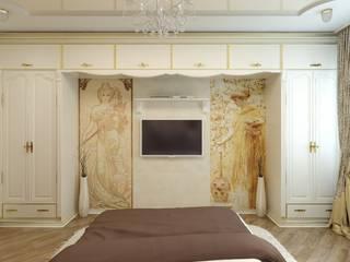 Classic style bedroom by Цунёв_Дизайн. Студия интерьерных решений. Classic