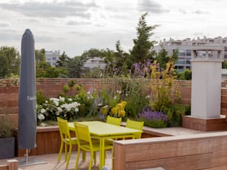 AD Concept Gardens Varandas, alpendres e terraços modernos