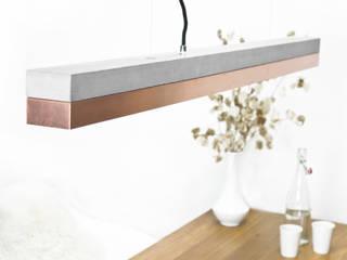 [C1]copper Pendelleuchte Beton Kupfer minimalistisch von GANTlights Minimalistisch