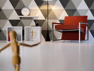 Geometric Spaces di Gianluca Muti Interior & 3D Designer Minimalista