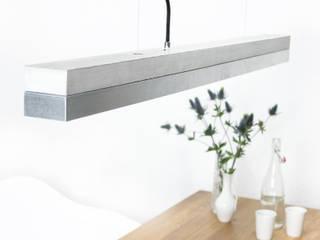 [C1]zinc Pendelleuchte Beton Zinkblech minimalistisch von GANTlights Minimalistisch