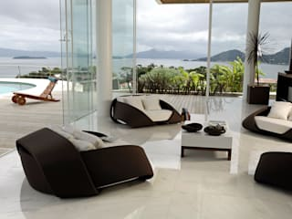 Mantovani e Rita Arquitetura Modern living room