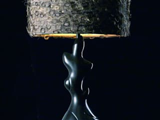 Horsehair drum lampshade:   by A Shade Above