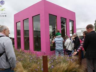 Centre d'expositions tropicaux par Garden Studio Allium Tropical