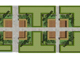 Jardin moderne par Garden Studio Allium Moderne