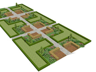 Taman Modern Oleh Garden Studio Allium Modern