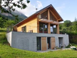 MAISON ADFX au Sappey en Chartreuse TESTUD THEVENIN ARCHITECTES Maisons modernes