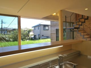 K-House : 一級建築士事務所オブデザインが手掛けた庭です。