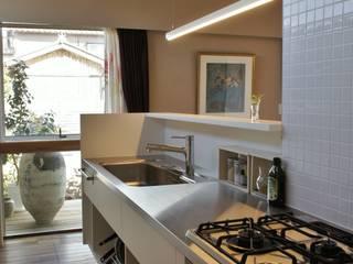 Kitchen by 一級建築士事務所オブデザイン, Modern