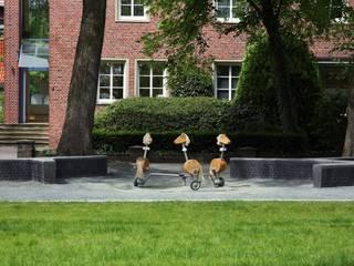 Georgswall Minimalistischer Garten von POLA Minimalistisch