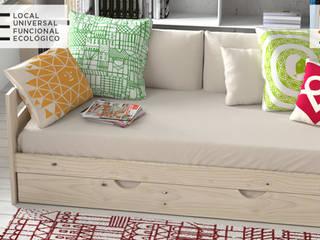 Muebles de madera maciza y fabricación local muy asequibles. de Muebles LUFE Escandinavo