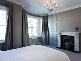 Full House Refurbishment, Gayville Road, Battersea Affleck Property Services Chambre moderne