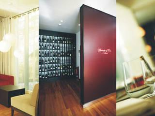 Traço Magenta - Design de Interiores Office spaces & stores
