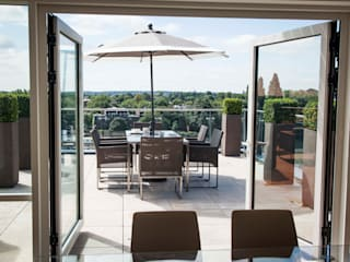 Kew Roof Terrace Cameron Landscapes and Gardens Roof terrace