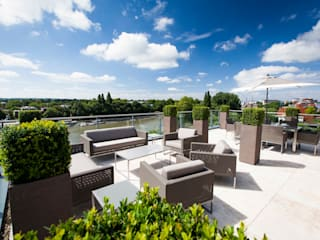 Kew Roof Terrace Cameron Landscapes and Gardens Teras atap