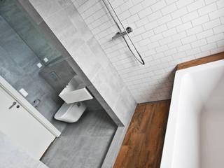 Beam & Block House Nowoczesna łazienka od mode:lina™ Nowoczesny