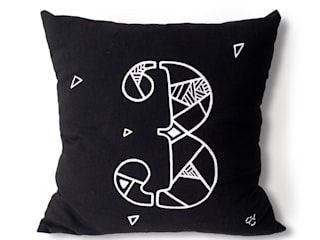 Carbon Dreams by Gül Arı – Numbers of Luck pillow series:  tarz