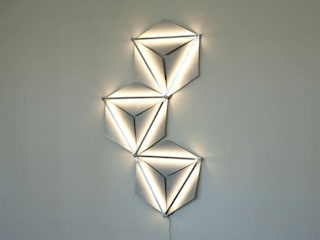 Modular Wall Light od DINGFLUX by Asia Piaścik Industrialny