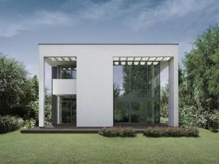 Häuser von PAWEL LIS ARCHITEKCI, Modern