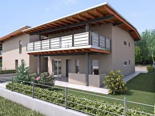 Edifici Via San Antonio:  in stile  di Studio Tecnico Associato Gennaro