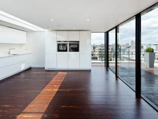 Hallam Street Modern kitchen by Sonnemann Toon Architects Modern