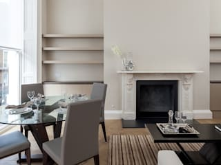 122 Harley Street Classic style living room by Sonnemann Toon Architects Classic
