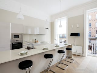 122 Harley Street Modern kitchen by Sonnemann Toon Architects Modern