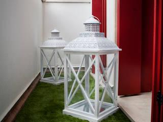 studio di progettazioni DARCHIMIRE Balconies, verandas & terraces Plants & flowers