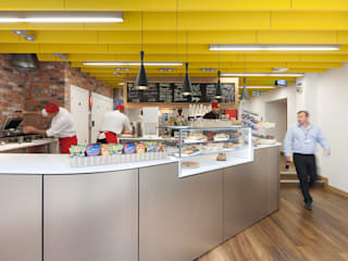 Project Pentrak Industrial style gastronomy by Sonnemann Toon Architects Industrial
