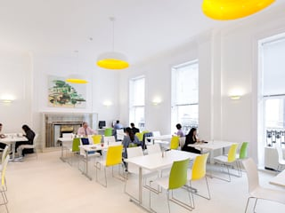 Staff Canteen Modern gastronomy by Sonnemann Toon Architects Modern