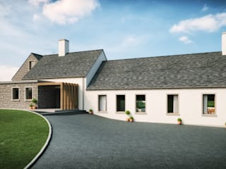 Tuftarney House Martinstown, Ballymena, County Antrim:  Houses by Slemish Design Studio Architects
