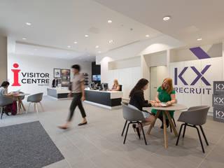 King's Cross Skills & Recruitment Centre Modern exhibition centres by Sonnemann Toon Architects Modern