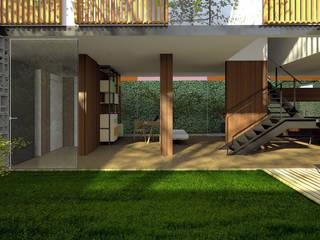Maisons de style  par ODVO Arquitetura e Urbanismo, Moderne