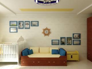 オリジナルデザインの 子供部屋 の Цунёв_Дизайн. Студия интерьерных решений. オリジナル