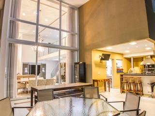 Projeto HP 04 Varandas, alpendres e terraços modernos por HAUS Moderno