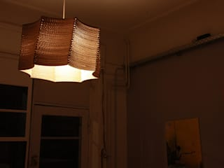 cardboard lampshades:  de style  par Pierre Guibert