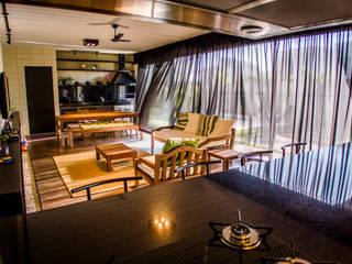 Sala de Estar/Jantar : Salas de estar  por HAUS