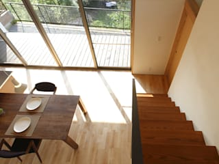 Modern dining room by アーキシップス京都 Modern