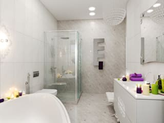 Minimalist style bathroom by pashchak design Minimalist
