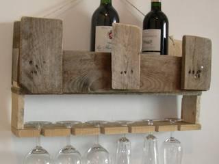 étagère bar en bois de palette:  de style  par Bois flotté de Gibus
