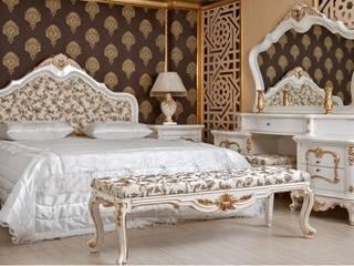 SAKURA KLASİK YATAK ODASI TAKIMI Klasik Yatak Odası Asortie Mobilya Dekorasyon Aş. Klasik