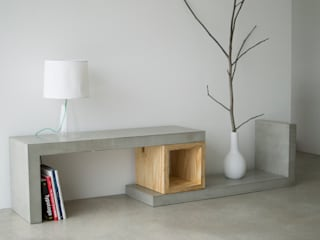 concrete square wood :   von formdimensionen
