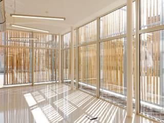 BOMEL SLAUGHTERHOUSE Lieux d'événements modernes par BAEB - Bureau d'architecture Emmanuel Bouffioux Moderne