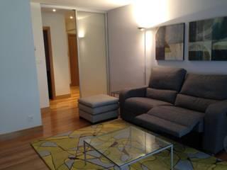 Reforma integral vivienda Salones de estilo moderno de RODEK arquitectura interior Moderno