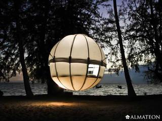 Tentes cocoon Tree Bed Lieux d'événements originaux par Almateon Éclectique
