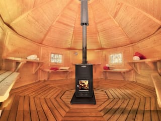 Le sauna Kota, véritable sauna Finlandais Spa scandinave par Almateon Scandinave