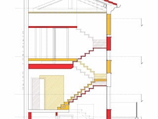 Corridor & hallway by tomaso boccato architetto