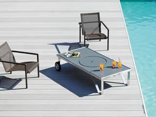Table basse brasero LUCIO par HAPPINOX Moderne