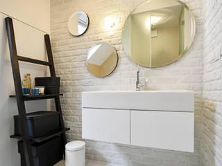 Remont łazienki małym kosztem Skandynawska łazienka od ANIEA Skandynawski