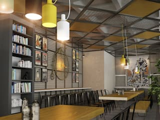 Cafe Project BA DESIGN Modern Duvar & Zemin